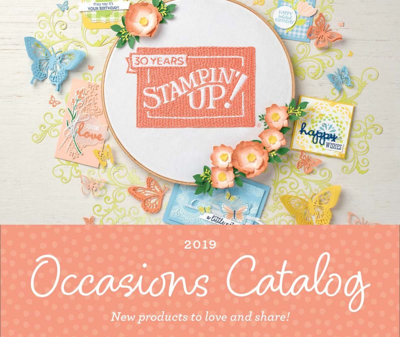 NEW 2019 Occasions Catalog from Stampin' Up!