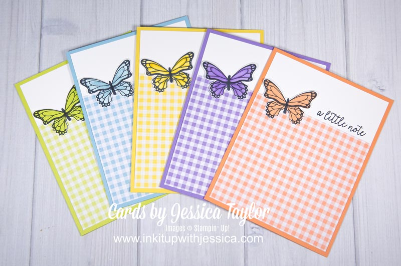 Butterfly Cards with Coloring Tips