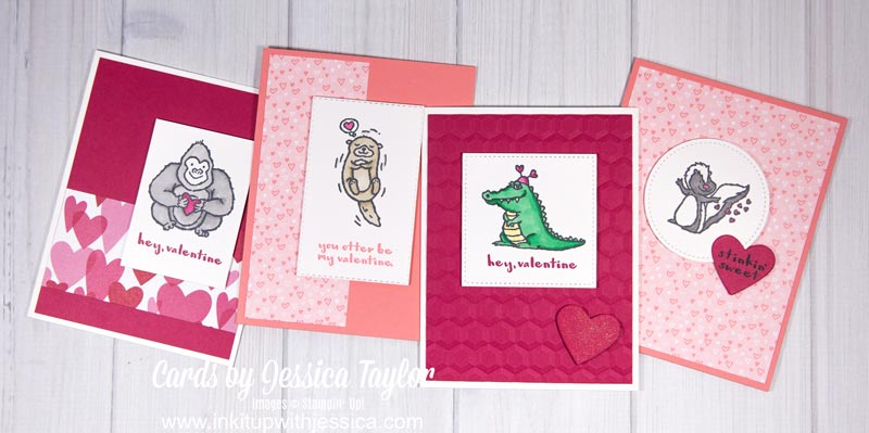 Valentine Cards with Stampin' Blends Tips