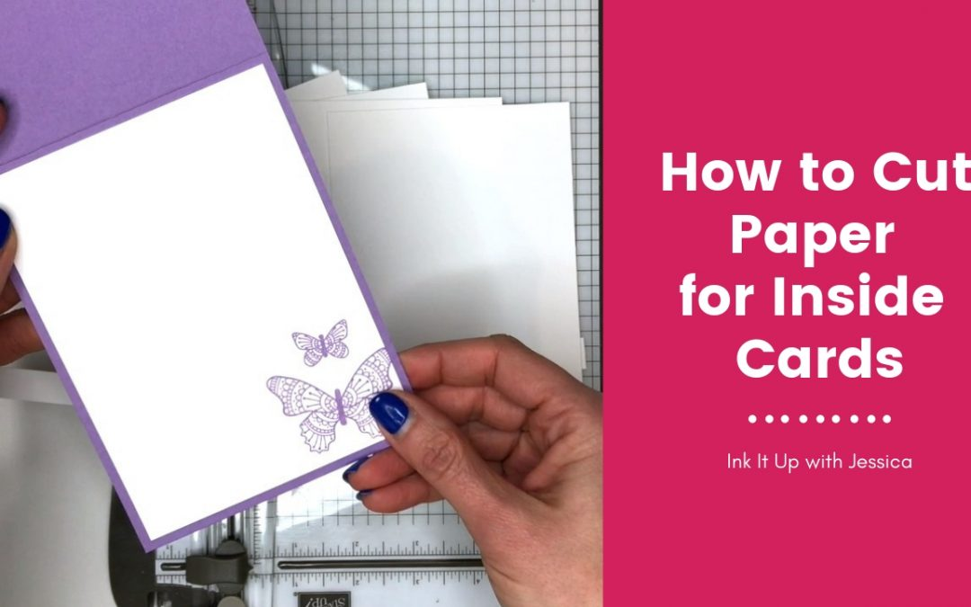 How to Cut Paper for Inside Cards