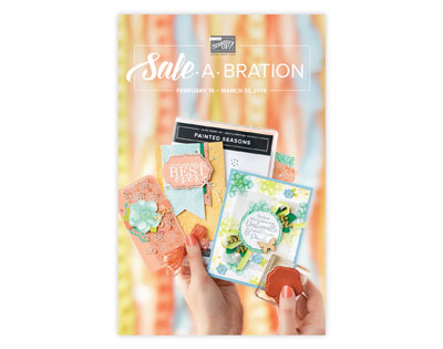 NEW Stampin' Up! Sale-A-Bration Catalog February 2019