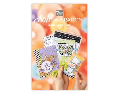 Stampin' Up! SALE-A-BRATION 2019 Catalog