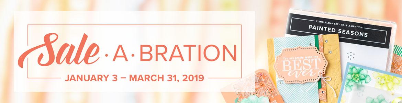 Stampin' Up! SALE-A-BRATION 2019