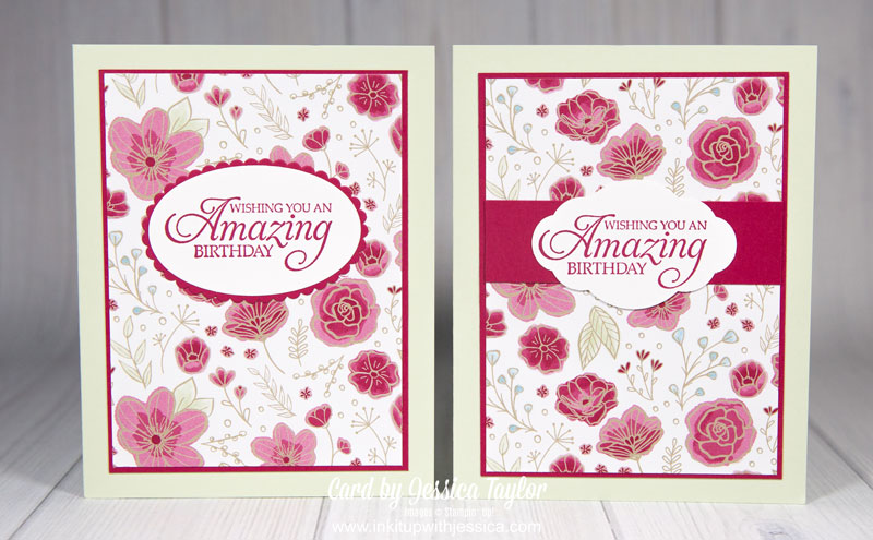 Pretty Paper Birthday Cards