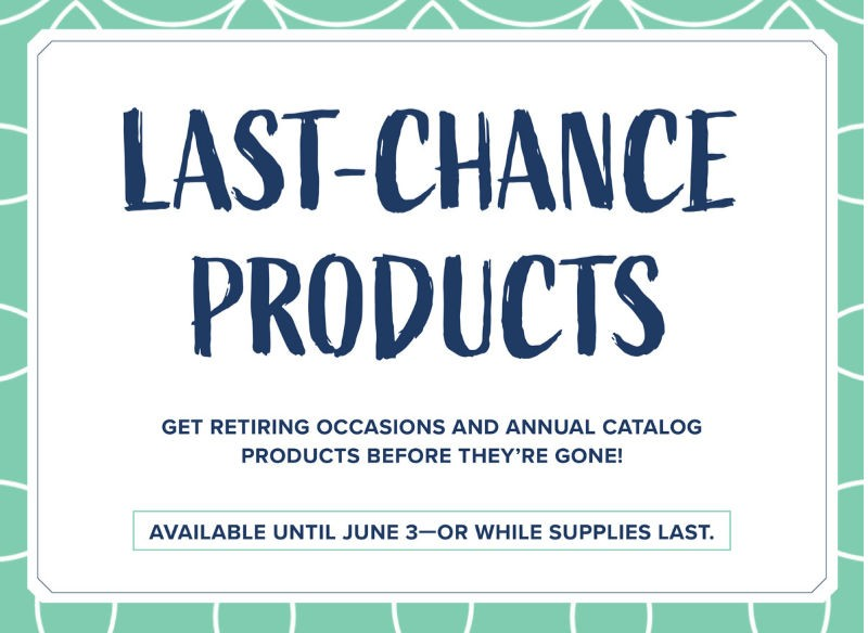 Grab Retiring Products Before They're GONE!