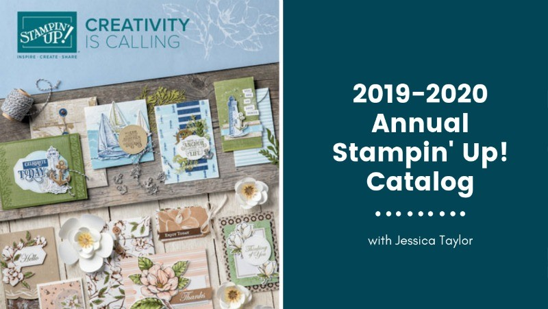 NEW 2019-2020 Annual Stampin' Up! Catalog