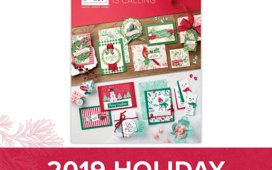 2019 Holiday Catalog from Stampin' Up!