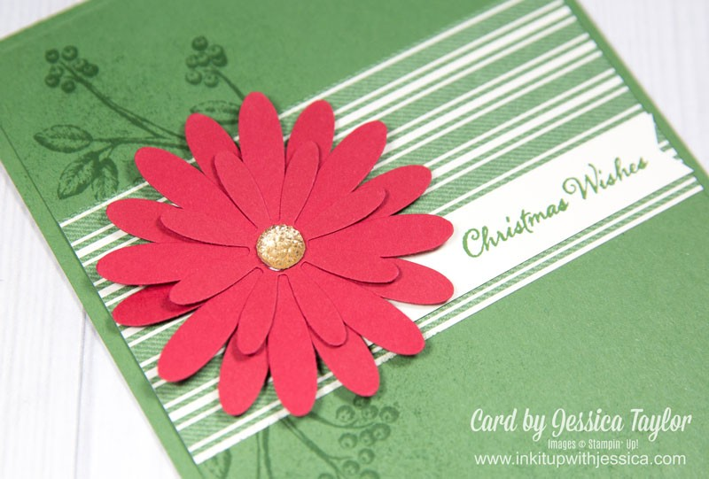 Daisy Punch Christmas Card