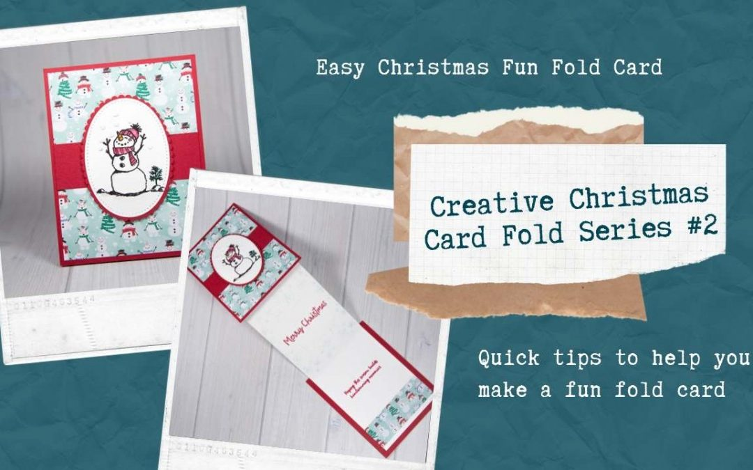 EASY Christmas Fun Fold Card
