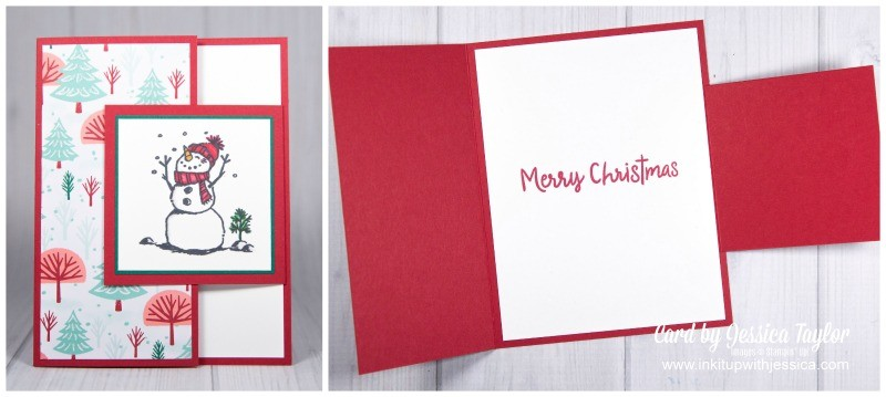 Creative Christmas Card Fold