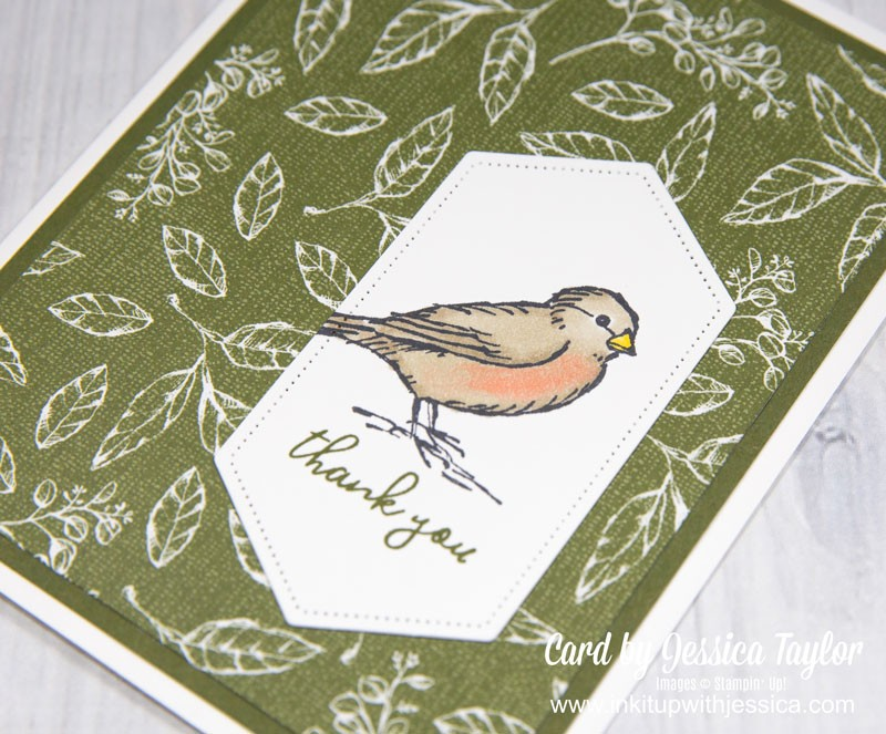Bird Thank You Card