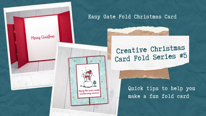 Christmas Gate Fold Card