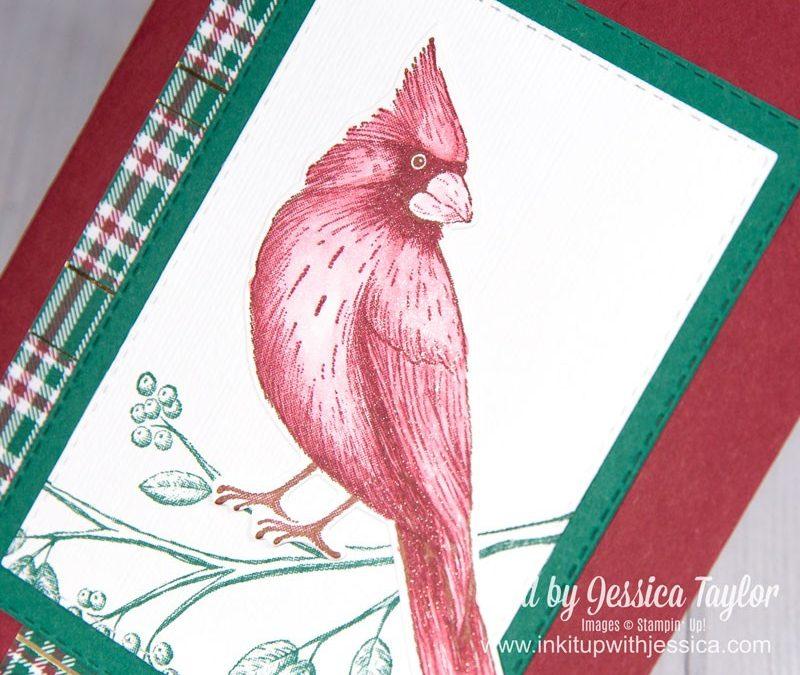 Handmade Cardinal Card