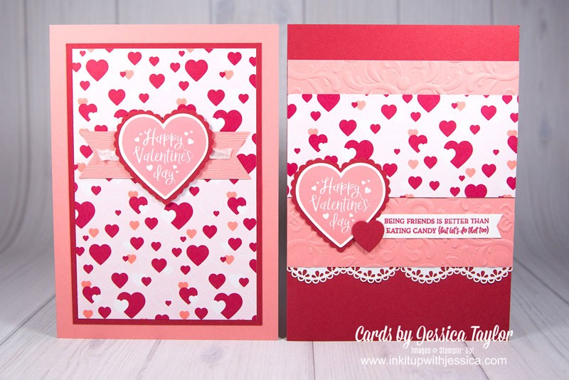 Handmade Valentine Card Ideas Ink It Up With Jessica Card Making Ideas Stamping Techniques