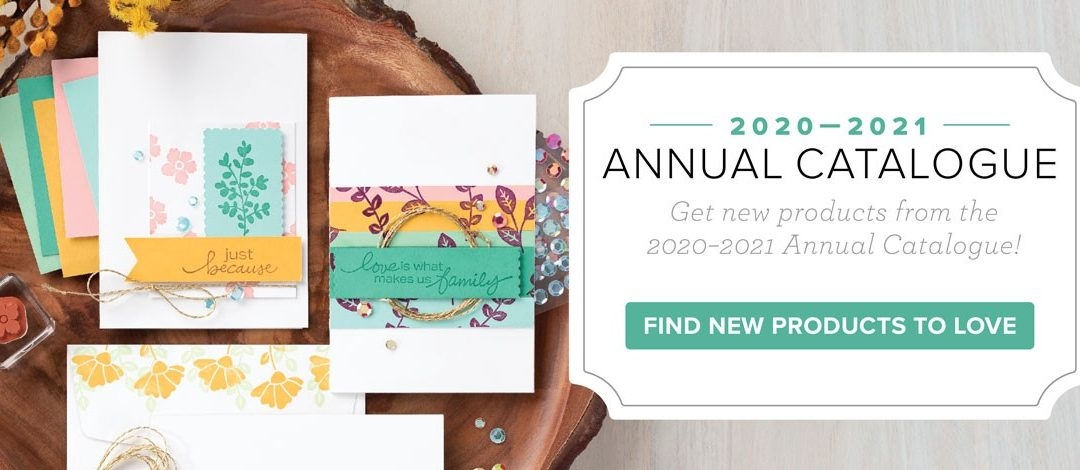 Have you looked inside the NEW Annual Stampin' Up! Catalog?