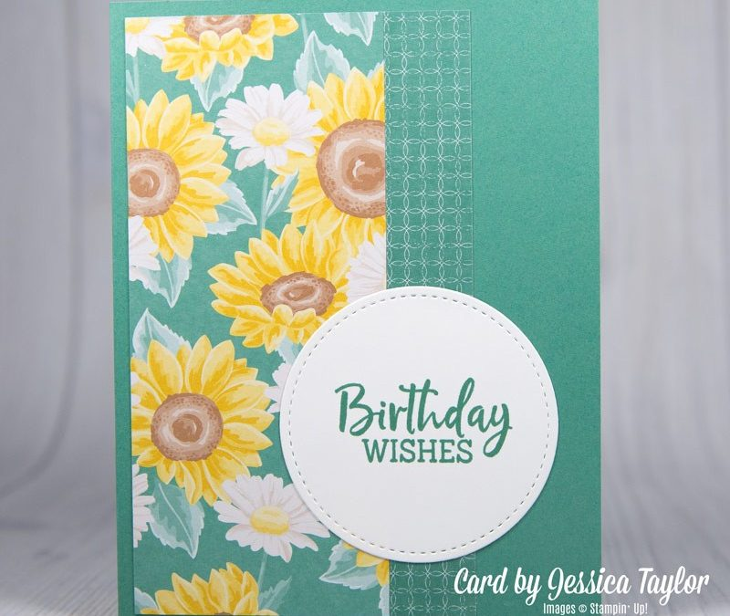 Easy Birthday Cards with Pretty Papers