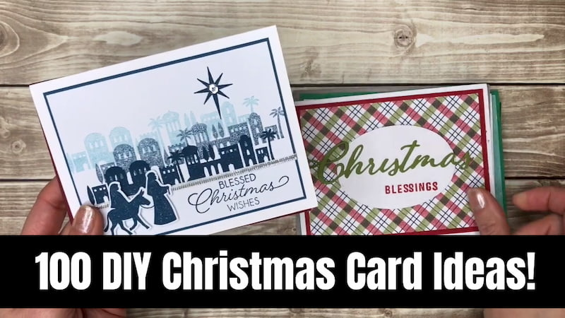 100 DIY Christmas Card Ideas