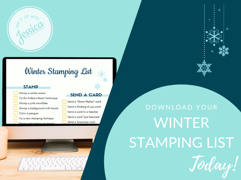Winter Stamping List