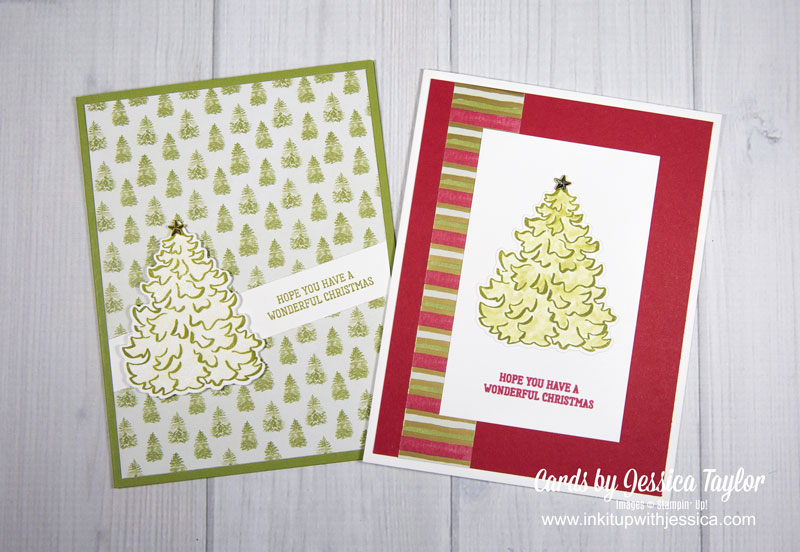 35 Christmas Cards made with the Most Wonderful Time Product Medley