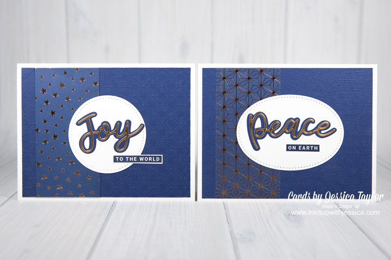 Peace & Joy DIY Holiday Cards