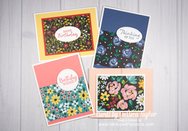 6 Card Ideas to Help You Make Cards with your Pretty Papers FAST!