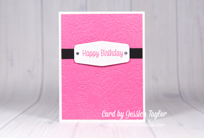 5 Cards made with 5 NEW In Colors!