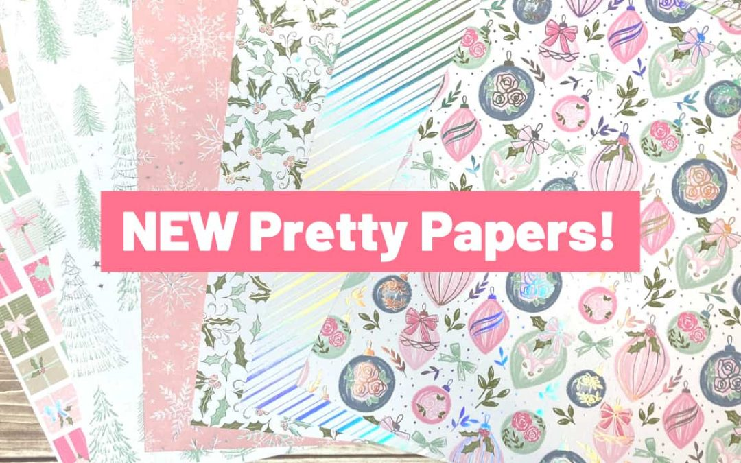 NEW Designer Series Papers from Stampin' Up!